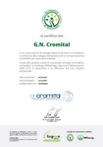 Certificato GN Cromital