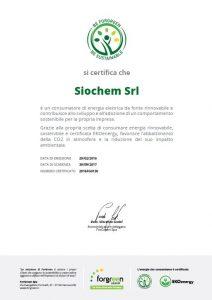 Certificato Siochem