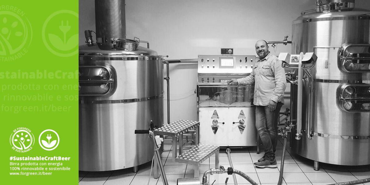 La Green Story di ForGreen, Josif Vezzoli è stato intervistato per raccontare la sostenibilità del suo Microbirrificio Birra Elvo